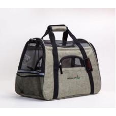 外出便攜式手提肩背寵物包透氣包(灰色) J-13390