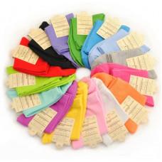 韓國糖果色時尚純棉短襪女襪少女襪(糖果色素色顏色隨機) J-13758