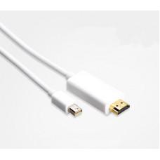 環保包裝迷你DP轉HDMI Mini Displayport DP 轉HDMI J-14304