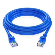 環保包裝RJ45網路線屏蔽雙絞線千兆工業級純無氧銅網線(顏色隨機)(5米) J-14657