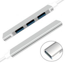 迷你type-c集線器USB 3.0 HUB集線器(顏色隨機) J-14697