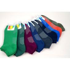 全毛巾-腳底防滑-瑜珈室內活動成人短船襪-保暖襪-氣墊運動襪(多色系) J-13547