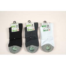 竹碳氣墊襪(黑色) J-12670