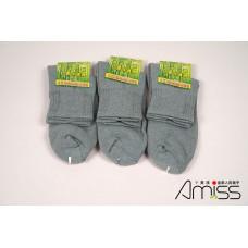 全竹炭運動氣墊襪 J-13326