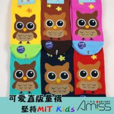 可愛直版止滑童襪 - 7~12歲(款式顏色隨機) J-13077