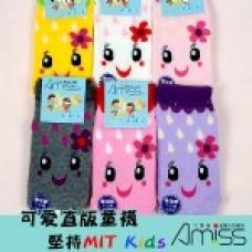 可愛直版止滑童襪 1-3歲(款式隨機) J-13110