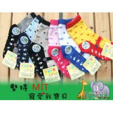 可愛止滑童襪*多款混色(款式隨機)(3-6歲) J-12444