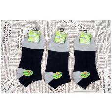 輕薄純棉奈米竹炭休閒船襪學生船襪(黑色) J-14109