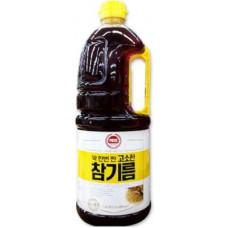 芝麻油1.8公升 100%純芝麻油,每罐1.8L J-14251