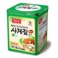 CJ生菜沾醬 14kg桶裝 J-14518