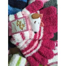 兒童款-針織保暖手套(隨機混色出貨) J-13562