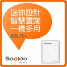 Sapido 150M 3G/4G超微型智慧雲端無線分享器(BRE71n) J-13353