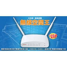 二手品_Sapido N速 高效率多網型無線寬頻分享器(RB-1732) J-12748
