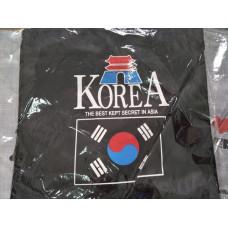 品名: 韓國東大門環保袋肩背袋(黑色) J-13906 全新 G-2508