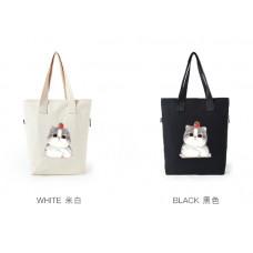 品名: 日系時尚原文藝帆布包袋單肩小清新學生單肩包(白色) J-13919 G-1295