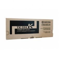 Kyocera TK-594K 黑色碳粉匣(原廠) 全新 G-4272