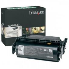 Lexmark 12A6865 黑色碳粉匣(副廠) 全新 G-4742