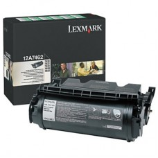 Lexmark 12A7462 黑色碳粉匣(副廠) 全新 G-4745