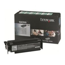 Lexmark 12A7415 黑色碳粉匣(副廠) 全新 G-4744