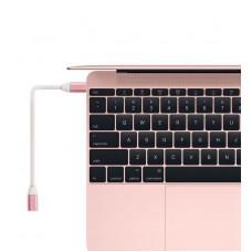 現貨_品名: type-c延長線全功能16芯公轉母USB3.1傳輸線鋁合金外殼(粉色)1M J-14647 全新 G-5963
