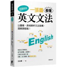 一張圖看懂英文文法(超圖解版)以圖像、表格解析文法架構,理解更輕鬆! 晨星王永華 七成新 G-6793